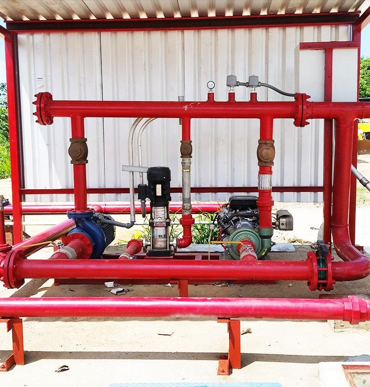 Sistemas de Almacenamiento y Conducción de Combustible para Estaciones de Servicio