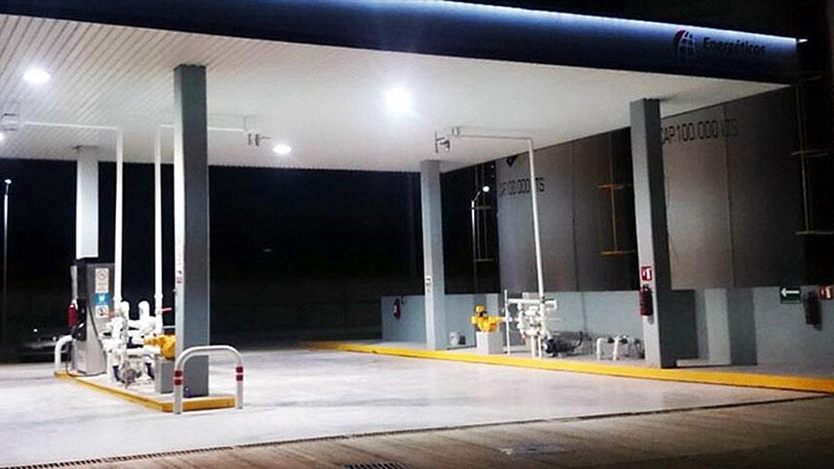 Estación y Tanques de Combustible - Kanasín
