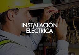 Instalación eléctrica para estaciones de servicio