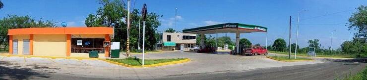 panorámica estación de servicio tatahuicapan