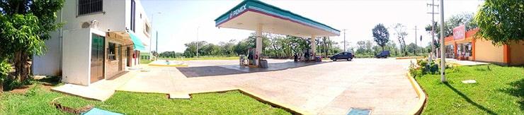 panorámica gasolinera tatahuicapan