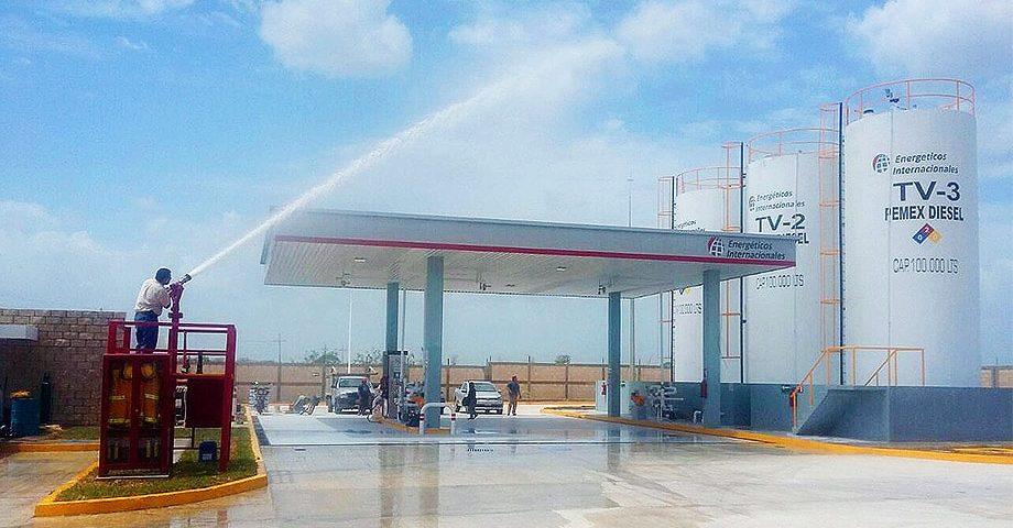 Planta de Almacenamiento y distribución de Combustible - Kanasín