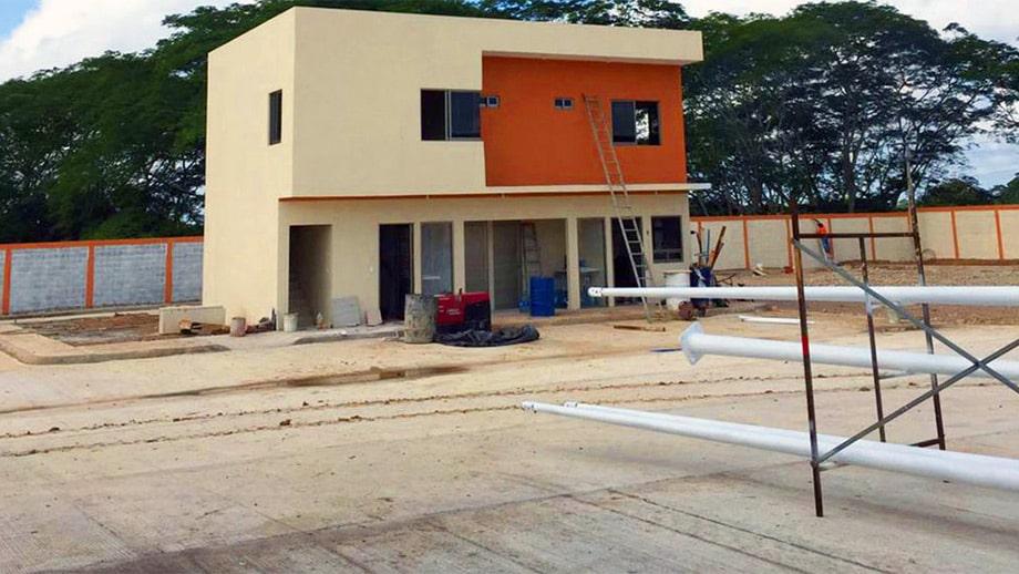 playa catazaja en construcción
